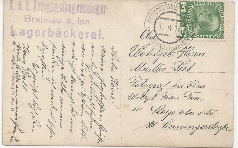 1914 - 1918   Der Untergang der K.u.K. Monarchie - Seite 3 Bild_378