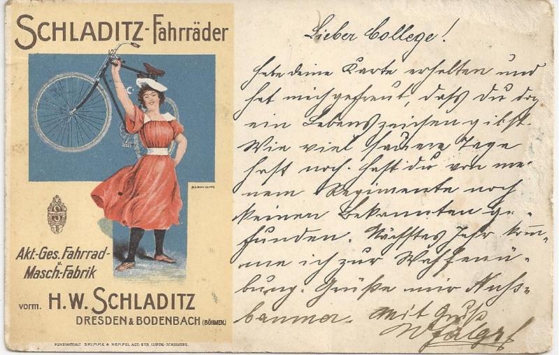 Werbeumschläge und -karten aus Österreich Bild_381