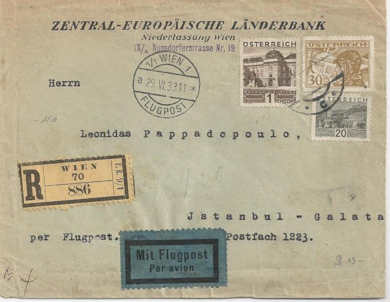 Briefe / Poststücke österreichischer Banken - Seite 2 Bild_382