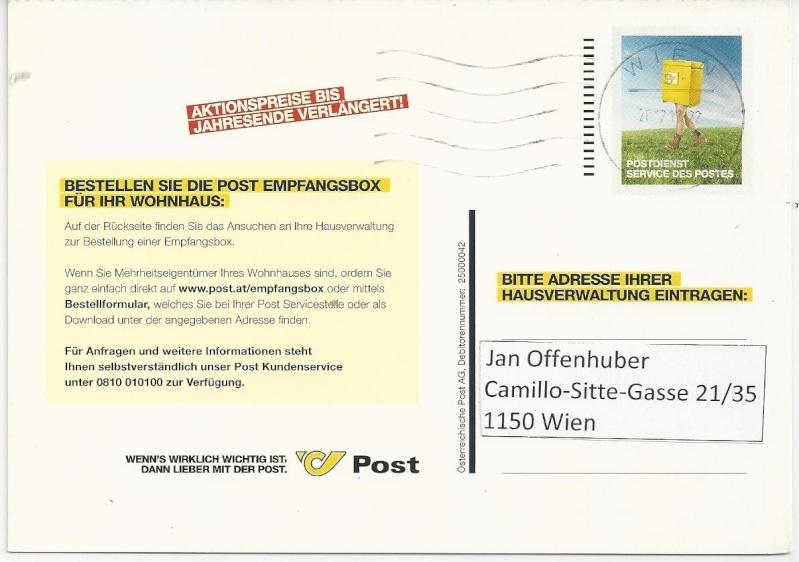 Postdienst - Karten (Werbepostkarten der Post) Bild_384