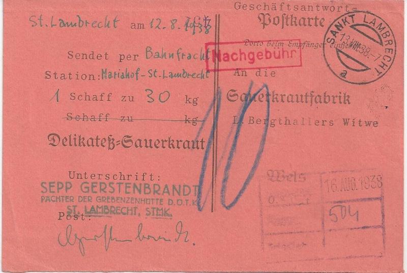 Österreich im III. Reich (Ostmark) Belege - Seite 5 Bild_390