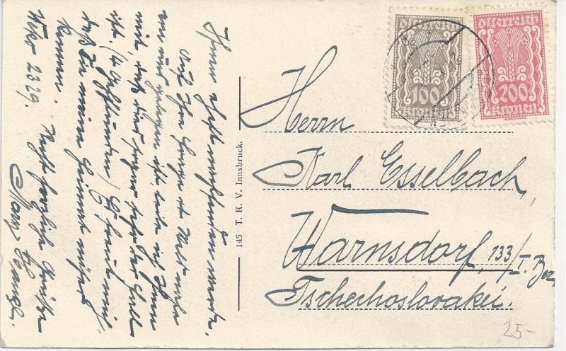 Inflation in Österreich - Belege - 1918 bis 1925 - Seite 3 Bild_392