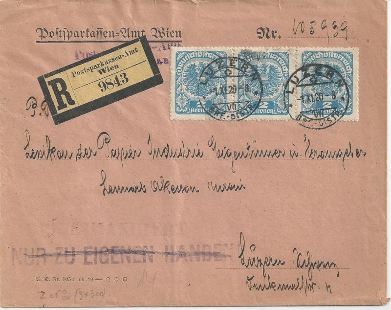 Inflation in Österreich - Belege - 1918 bis 1925 - Seite 3 Bild_393