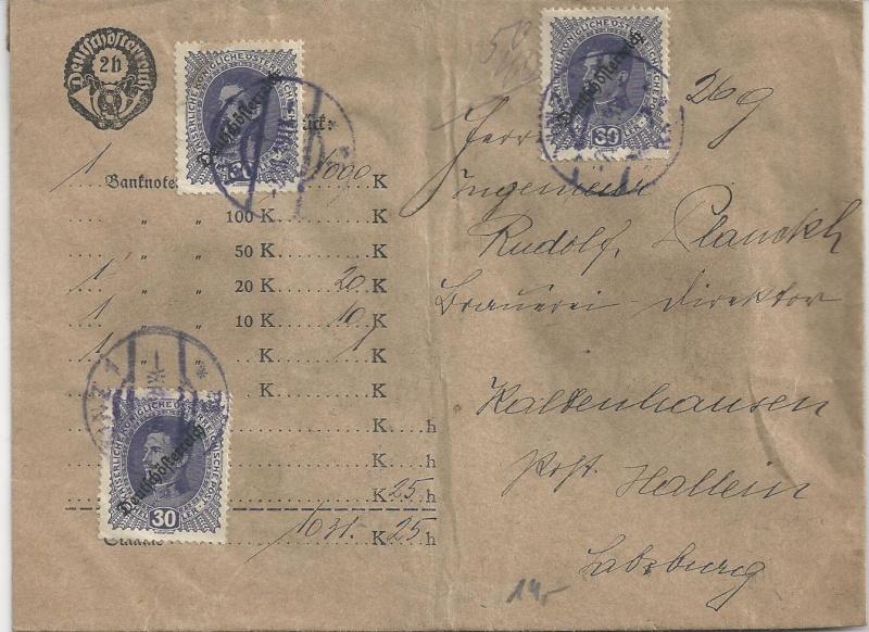 Inflation in Österreich - Belege - 1918 bis 1925 - Seite 3 Bild_394