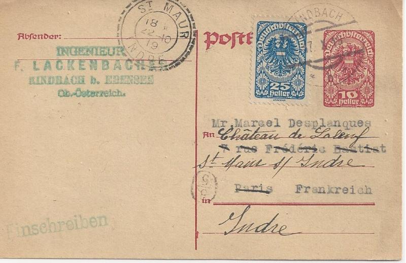 Inflation in Österreich - Belege - 1918 bis 1925 - Seite 3 Bild_396