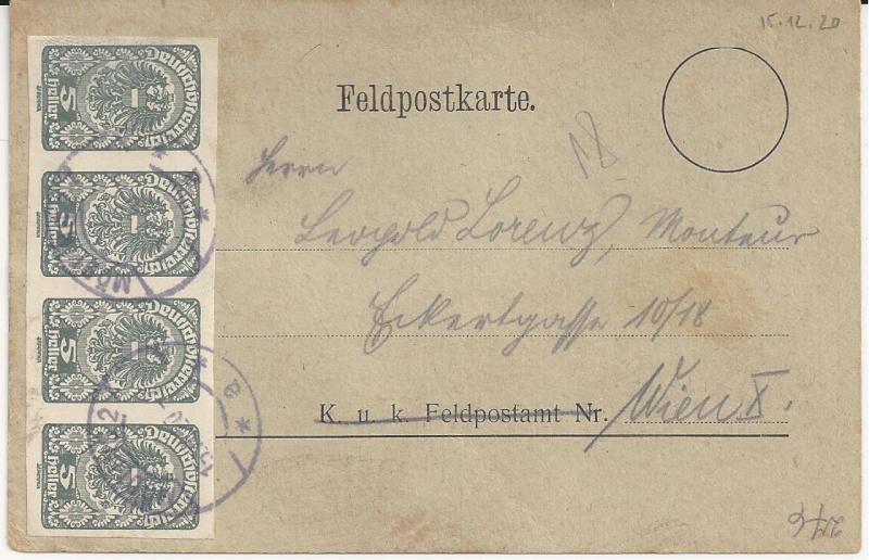 Inflation in Österreich - Belege - 1918 bis 1925 - Seite 3 Bild_398