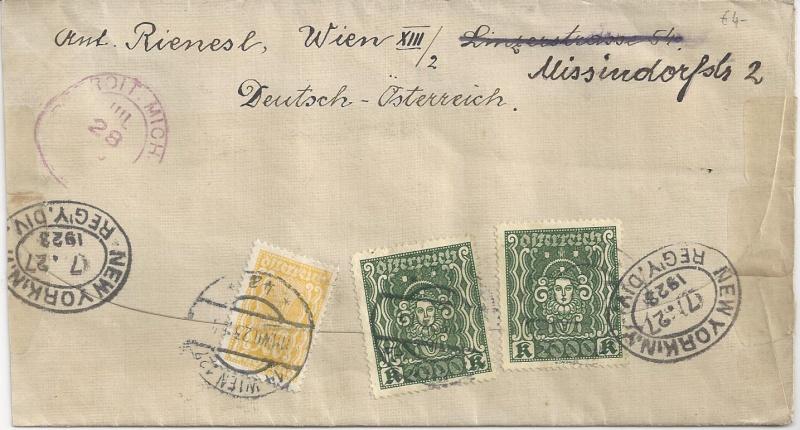 Inflation in Österreich - Belege - 1918 bis 1925 - Seite 2 Bild_417