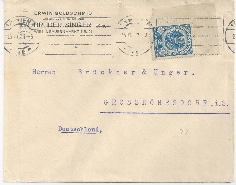 Inflation in Österreich - Belege - 1918 bis 1925 - Seite 2 Bild_434