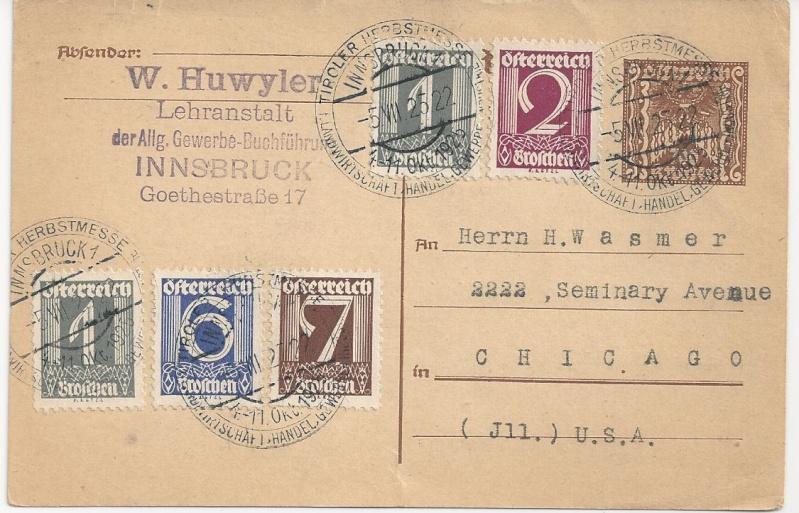 Inflation in Österreich - Belege - 1918 bis 1925 - Seite 2 Bild_435