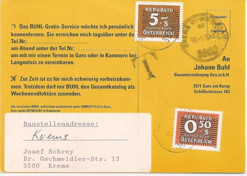 Verwendung von Portomarken in Österreich Bild_445