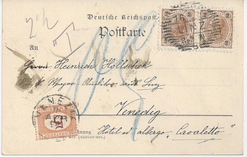 Verwendung von Portomarken in Österreich Bild_448