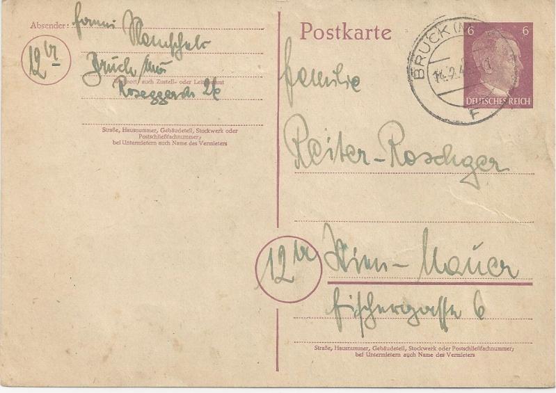 Österreich im III. Reich (Ostmark) Belege - Seite 3 Bild_449
