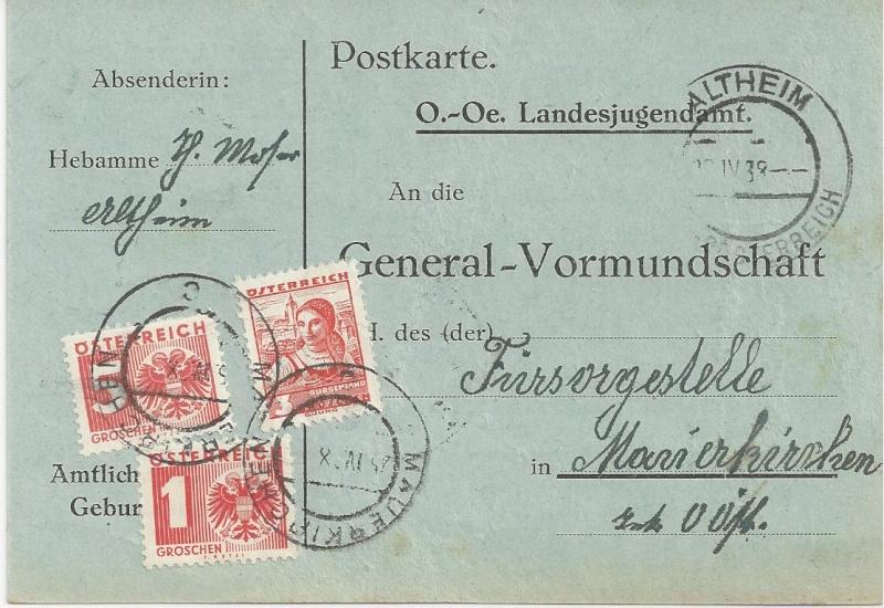 Österreich im III. Reich (Ostmark) Belege - Seite 3 Bild_452
