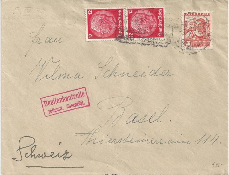 Österreich im III. Reich (Ostmark) Belege - Seite 4 Bild_461