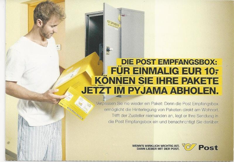 Postdienst - Karten (Werbepostkarten der Post) Bild_474