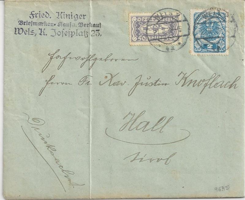 Inflation in Österreich - Belege - 1918 bis 1925 - Seite 2 Bild_476
