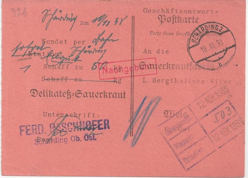 Österreich im III. Reich (Ostmark) Belege - Seite 5 Bild_478
