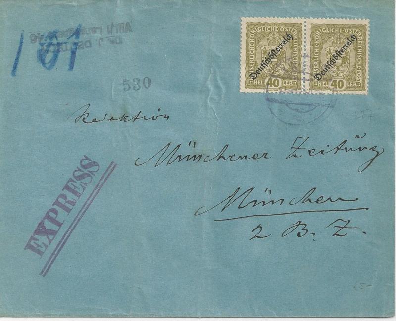 Inflation in Österreich - Belege - 1918 bis 1925 - Seite 3 Bild_481