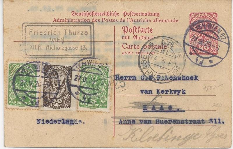 Inflation in Österreich - Belege - 1918 bis 1925 - Seite 3 Bild_483