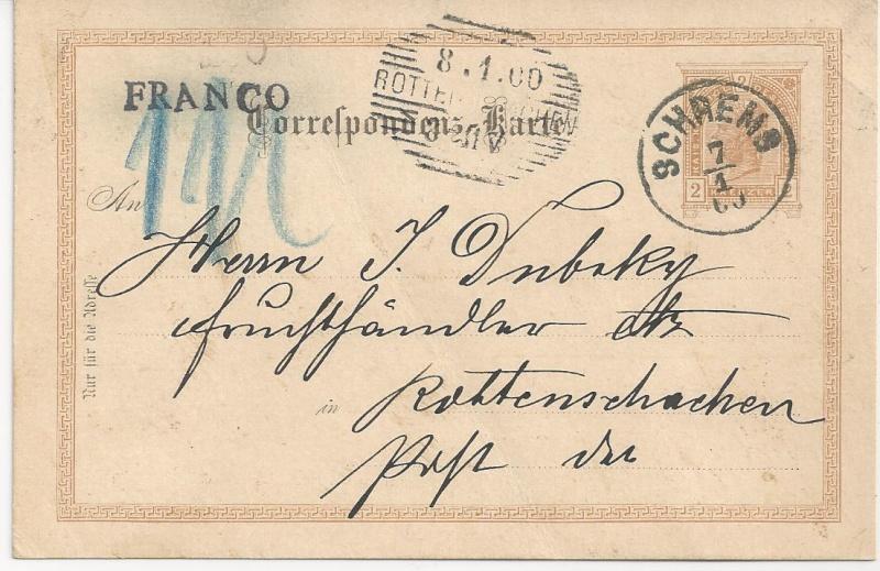 Freimarkenausgabe 1899 Bild_514