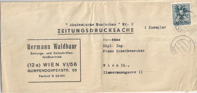 Deutsches Reich - Belege aus November 1945 Bild_522