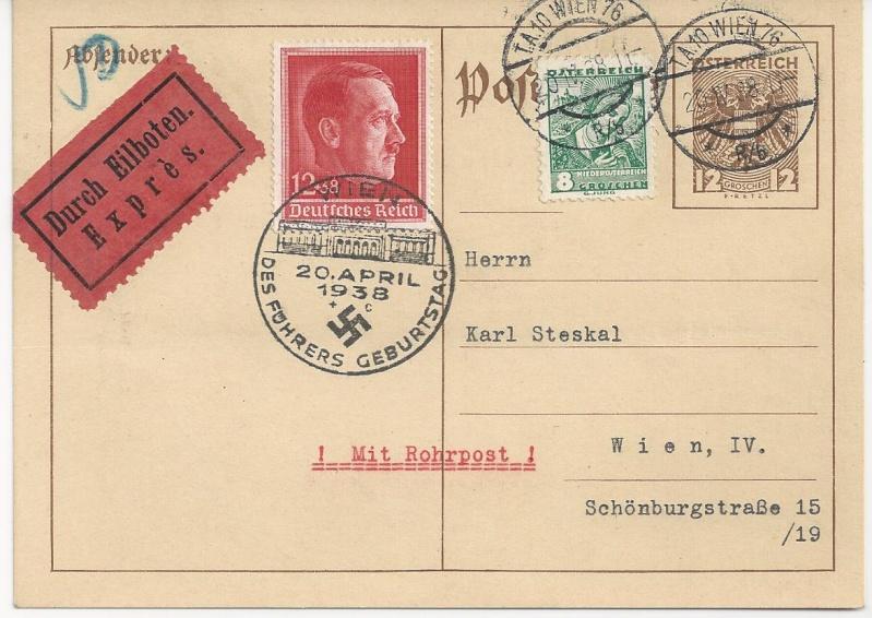 Österreich im III. Reich (Ostmark) Belege - Seite 3 Bild_538