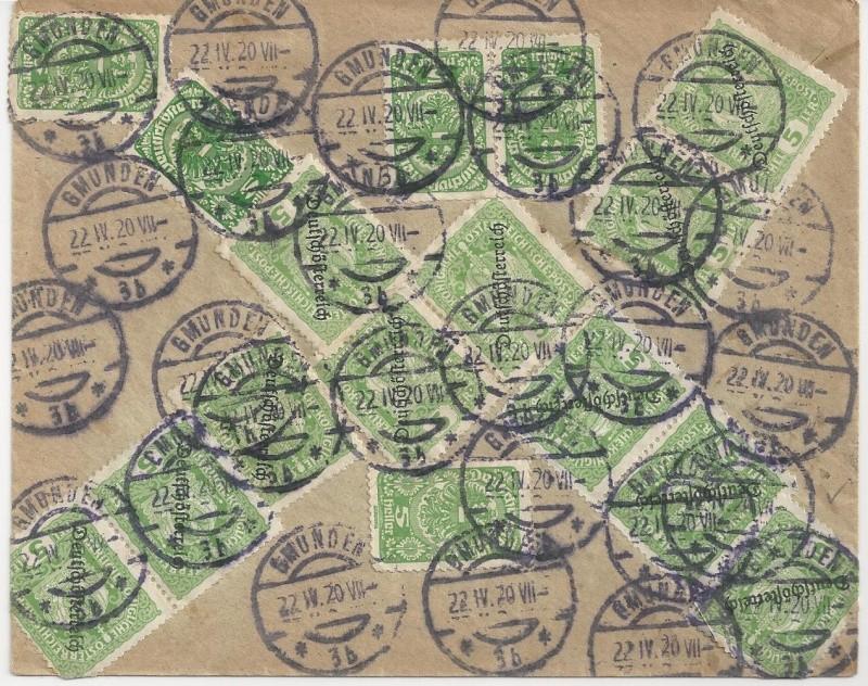 Inflation in Österreich - Belege - 1918 bis 1925 - Seite 2 Bild_545