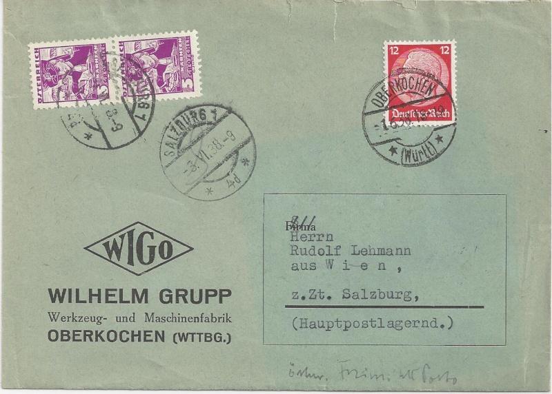 Österreich im III. Reich (Ostmark) Belege - Seite 3 Bild_546