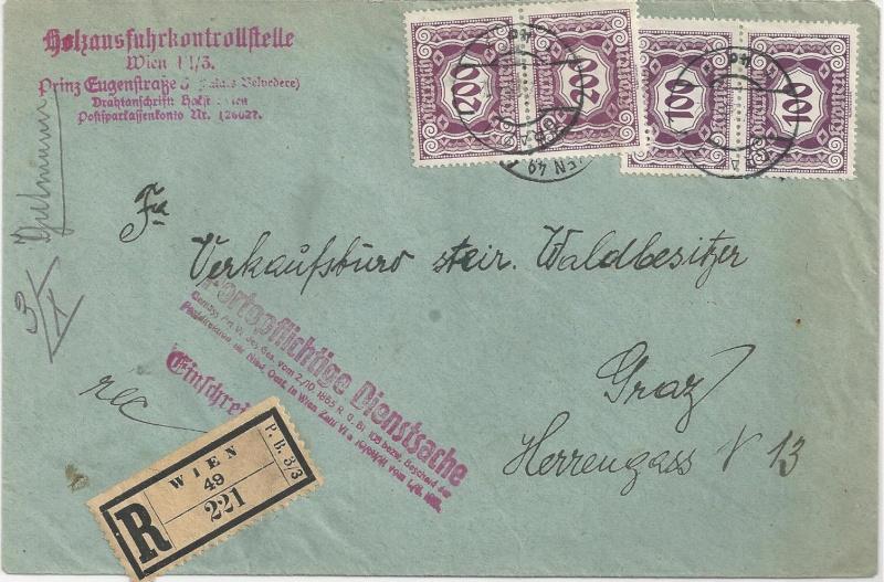 Inflation in Österreich - Belege - 1918 bis 1925 - Seite 2 Bild_563