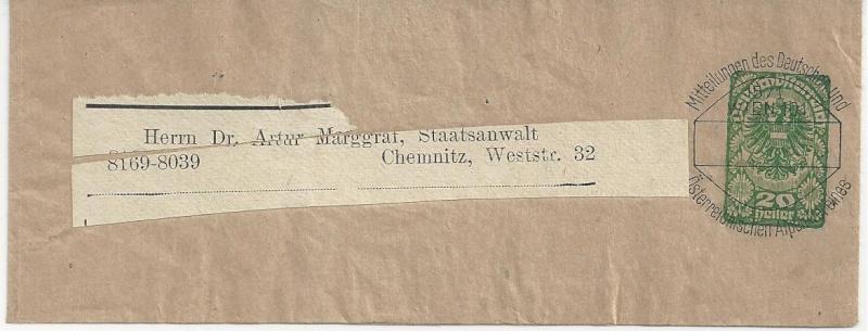 Inflation in Österreich - Belege - 1918 bis 1925 - Seite 3 Bild_565