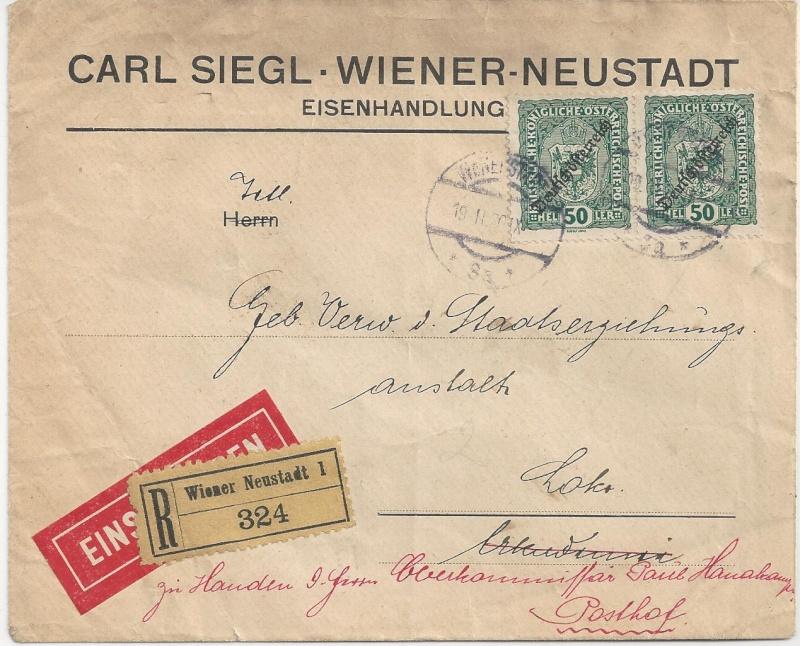 Inflation in Österreich - Belege - 1918 bis 1925 - Seite 3 Bild_566