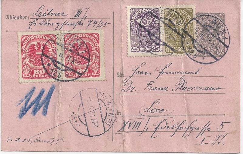 Inflation in Österreich - Belege - 1918 bis 1925 - Seite 3 Bild_569