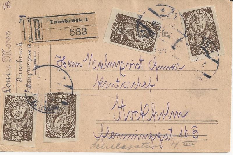 Inflation in Österreich - Belege - 1918 bis 1925 - Seite 3 Bild_570