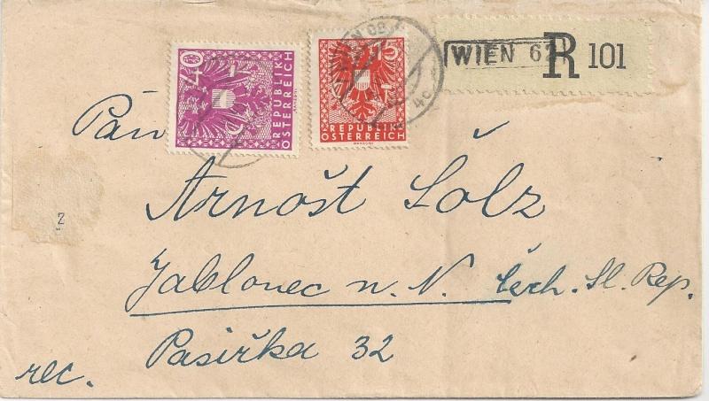 Deutsches Reich - Belege aus November 1945 Bild_618