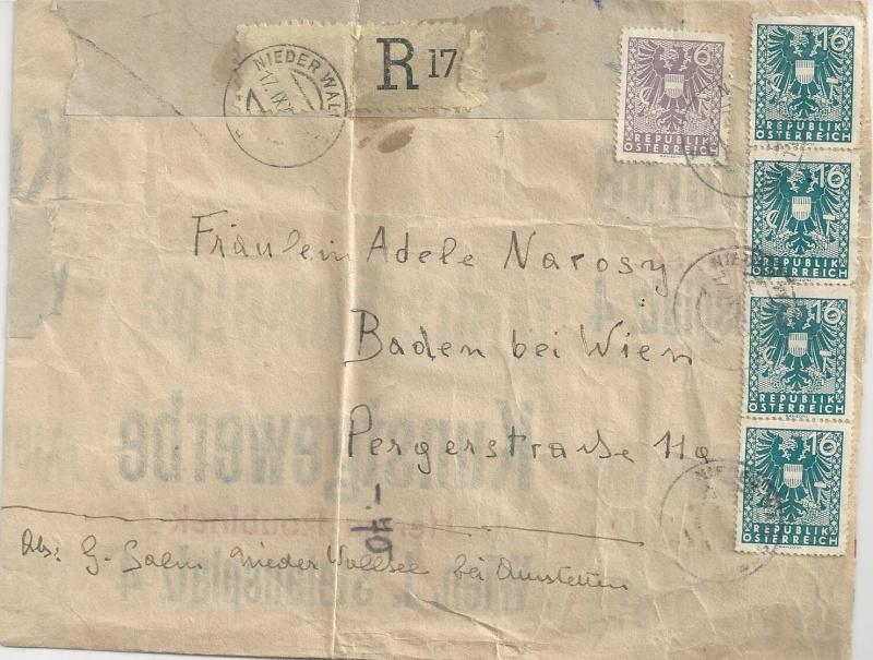 Deutsches Reich - Belege aus September 1945 Bild_621