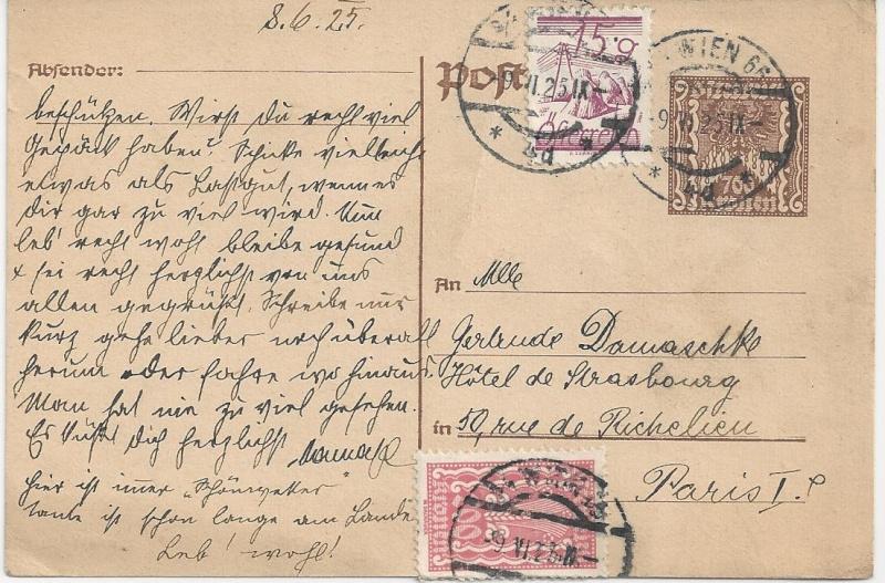 Inflation in Österreich - Belege - 1918 bis 1925 - Seite 2 Bild_635