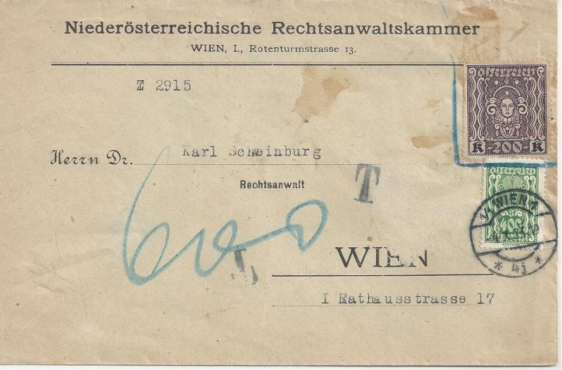 Inflation in Österreich - Belege - 1918 bis 1925 - Seite 2 Bild_651