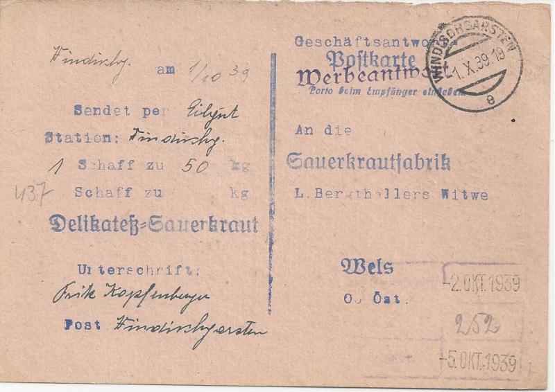 Österreich im III. Reich (Ostmark) Belege - Seite 5 Bild_652