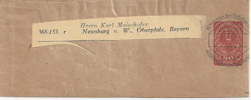 Inflation in Österreich - Belege - 1918 bis 1925 - Seite 3 Bild_653