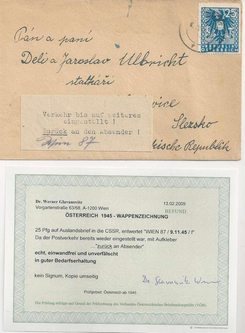 Deutsches Reich - Belege aus November 1945 Bild_716