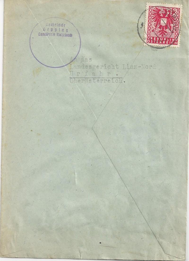 Deutsches Reich - Belege aus November 1945 Bild_717