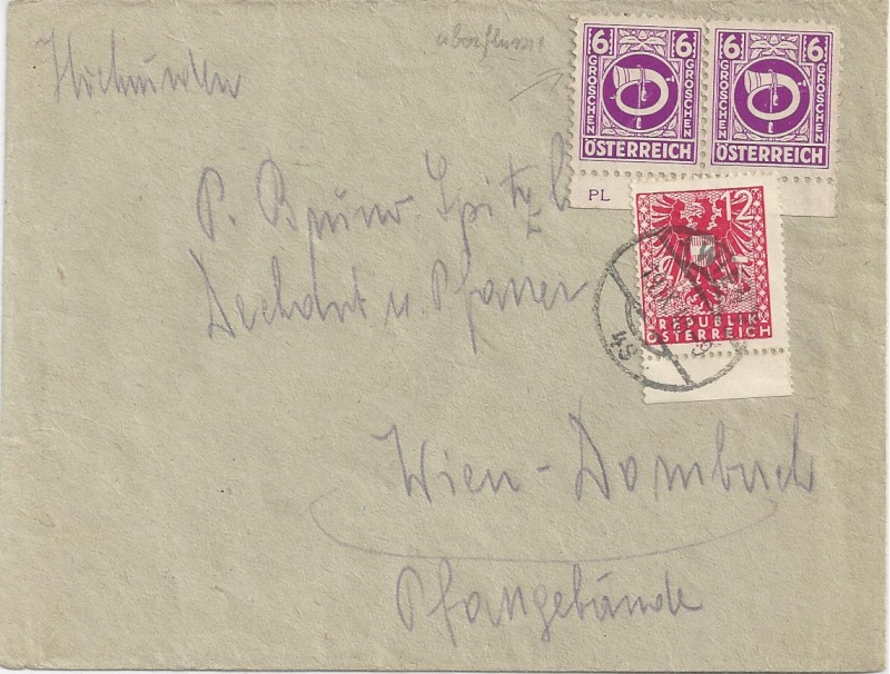 Deutsches Reich - Belege aus September 1945 Bild_718