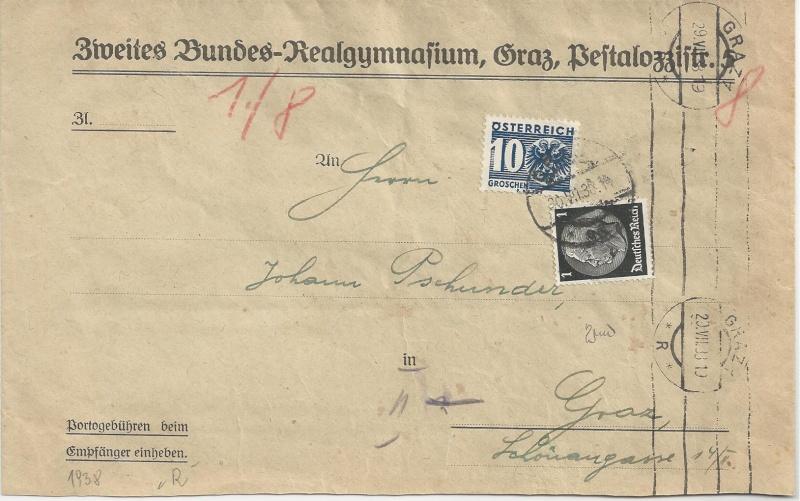 Österreich im III. Reich (Ostmark) Belege - Seite 3 Bild_731