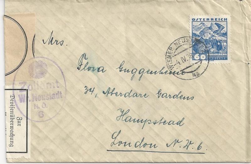 Österreich im III. Reich (Ostmark) Belege - Seite 4 Bild_734