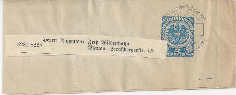 Inflation in Österreich - Belege - 1918 bis 1925 - Seite 3 Bild_741