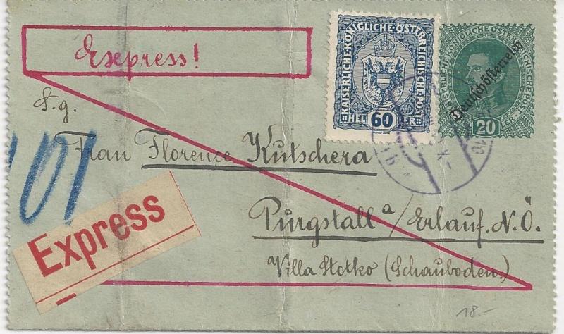 Inflation in Österreich - Belege - 1918 bis 1925 - Seite 3 Bild_742