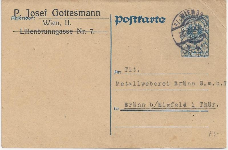 Inflation in Österreich - Belege - 1918 bis 1925 - Seite 3 Bild_744