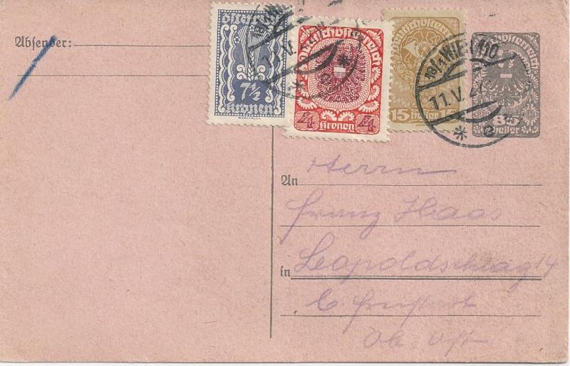 Inflation in Österreich - Belege - 1918 bis 1925 - Seite 3 Bild_745