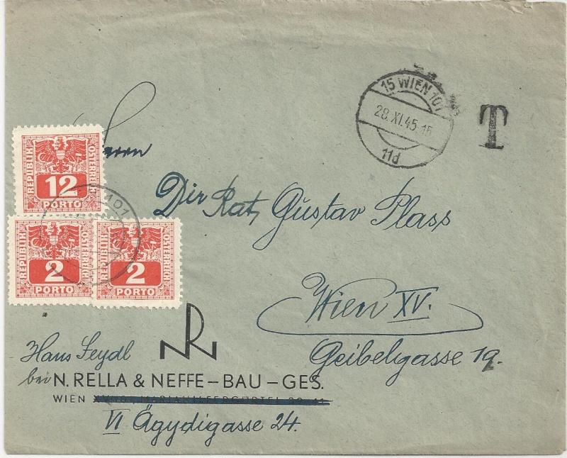 Deutsches Reich - Belege aus November 1945 Bild_814