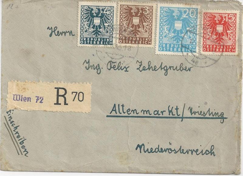 Deutsches Reich - Belege aus September 1945 Bild_817